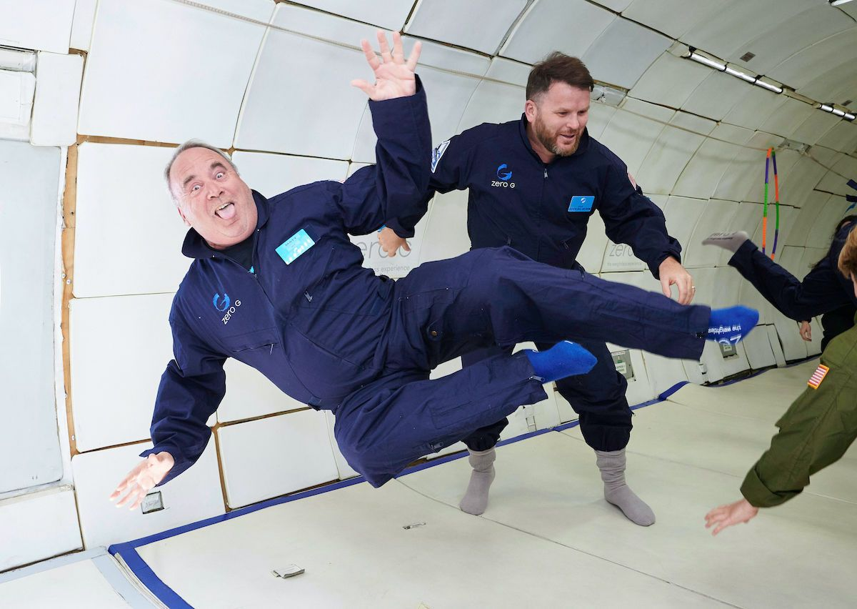 What is a zero gravity flight