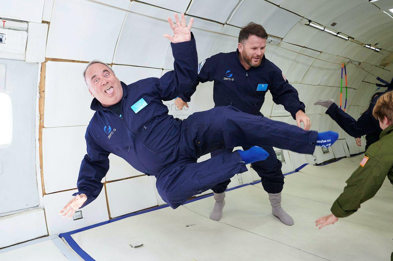 What is a zero gravity flight