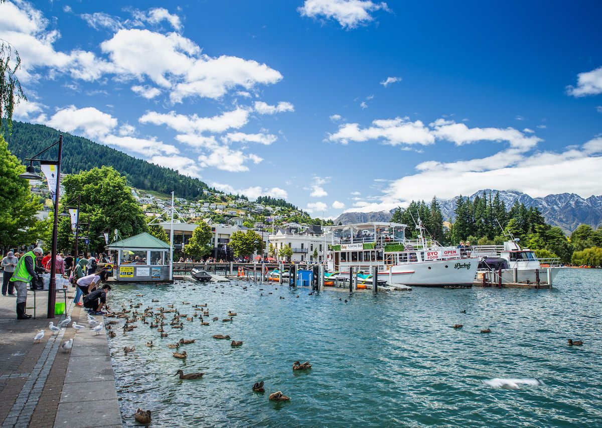 Queenstown is just as good a place to relax as it is for adventure sports