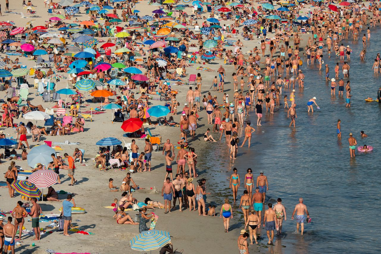 Spain beach reservations