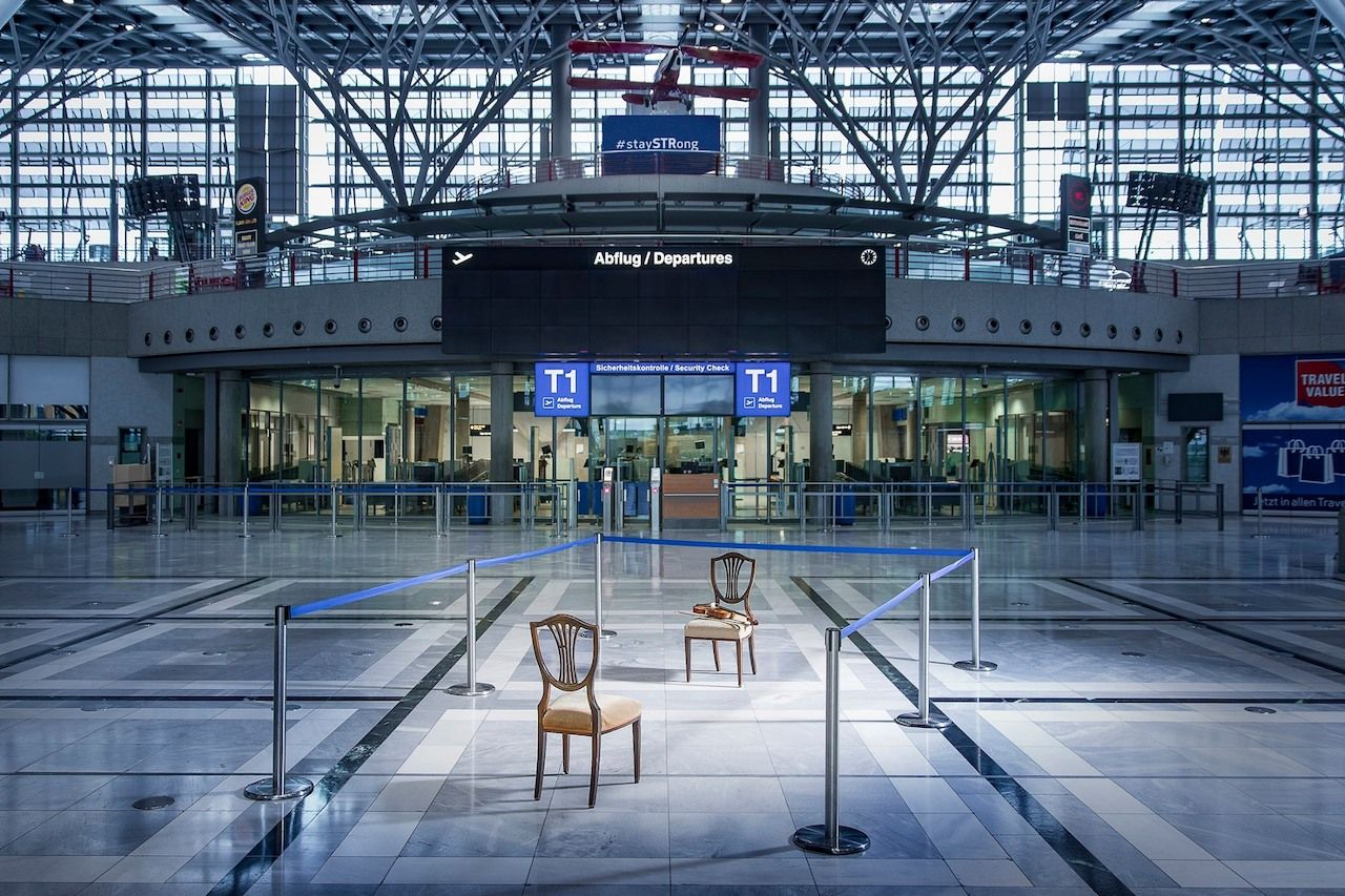 The Stuttgart Airport is holding one-on-one concerts