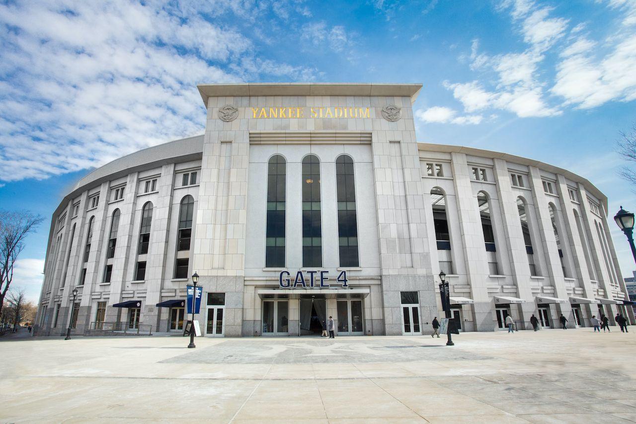 Yankee Stadium drive-in festival