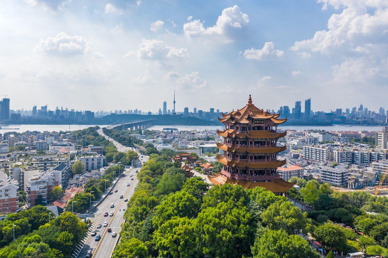 Virtual tour of Wuhan, China