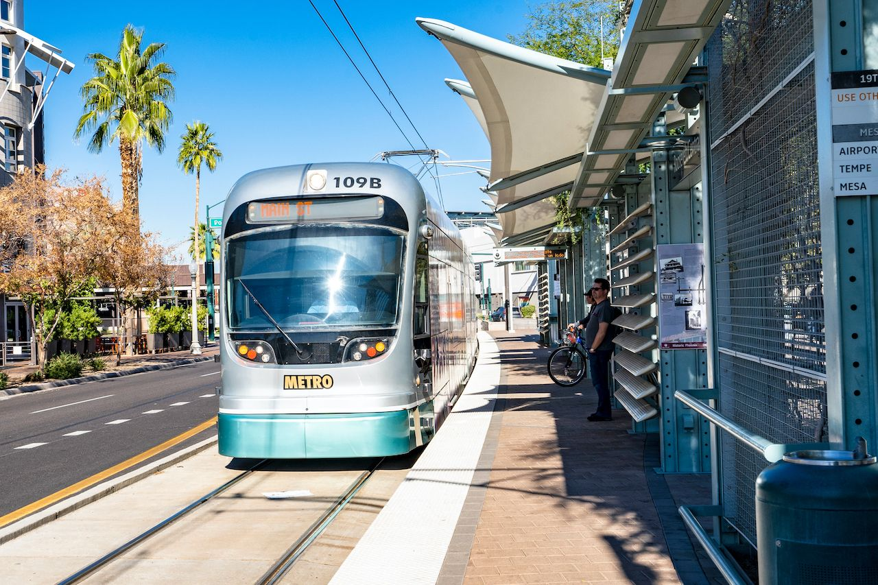 Phoenix light rail trip planner