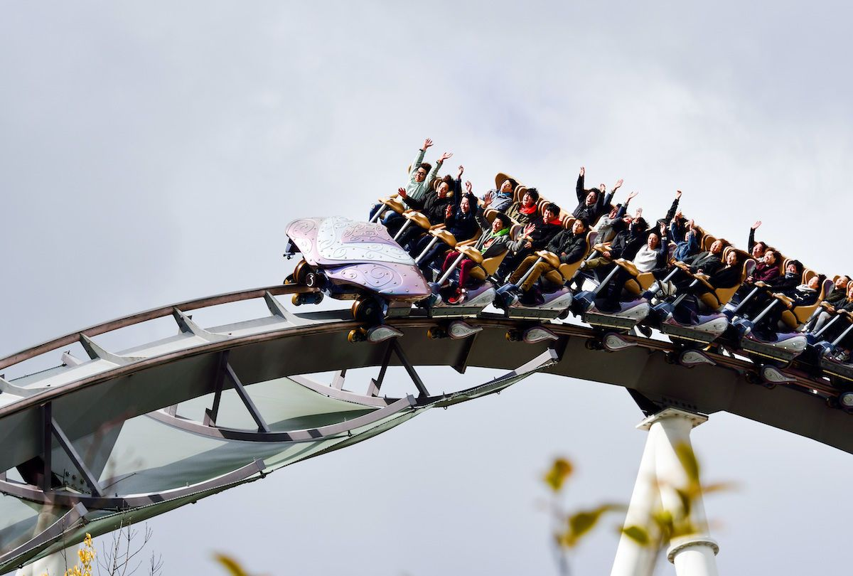 Japan amusement parks ban screaming on rollercoasters