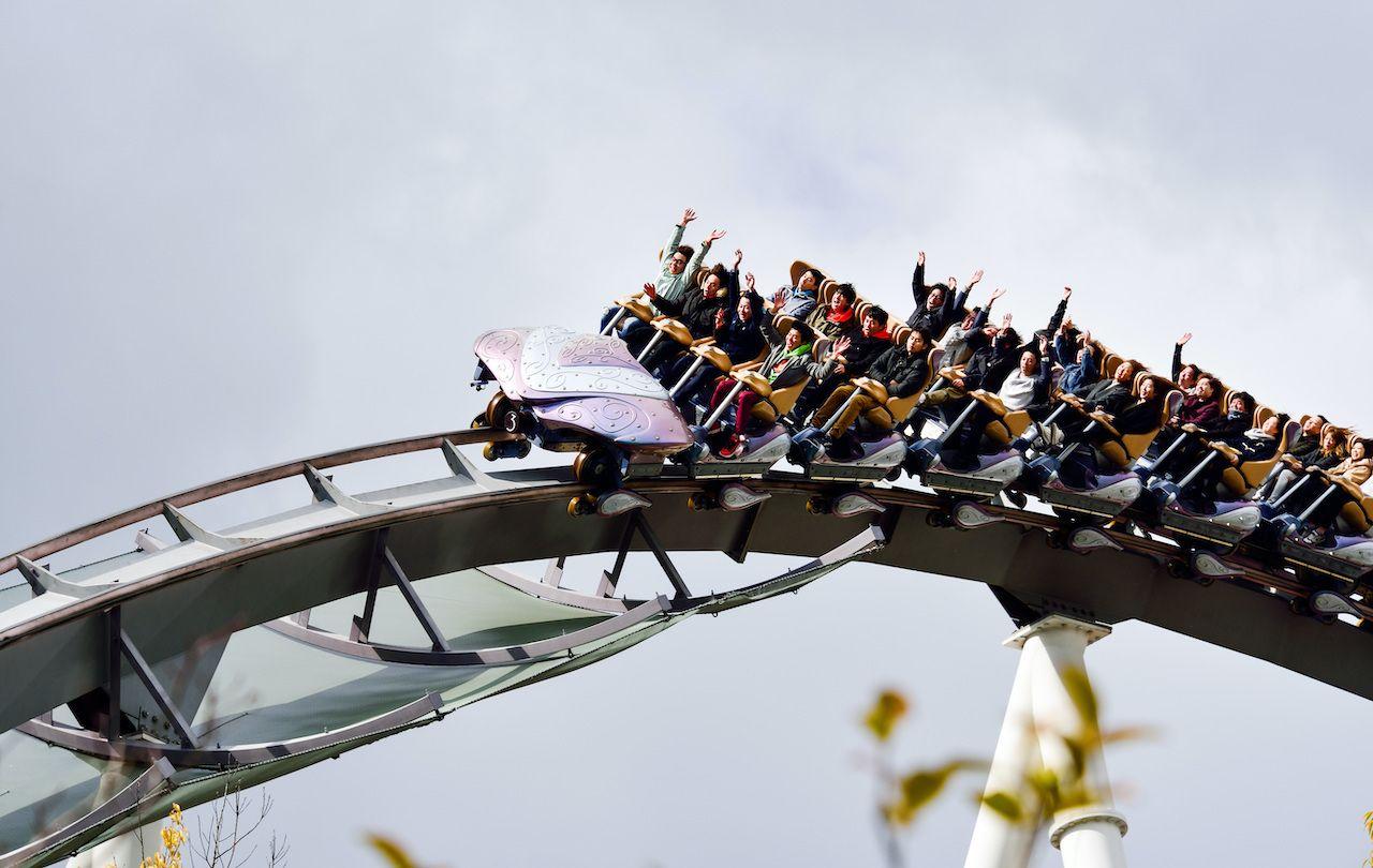 Japan s rollercoasters ban screaming