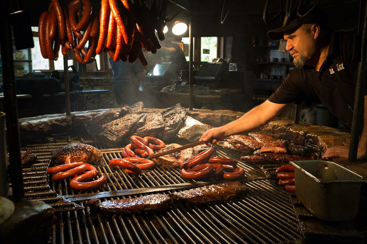 Texas barbecue history