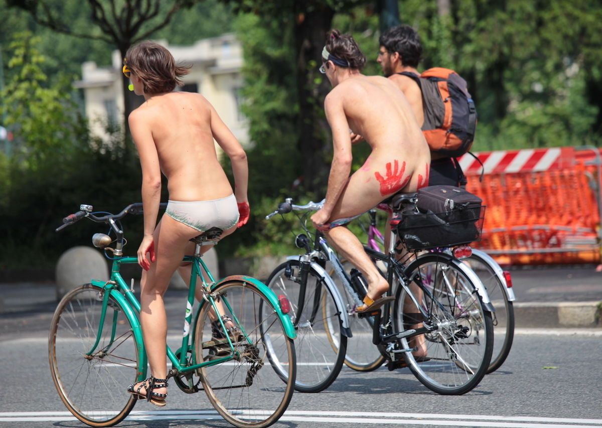 world naked bike ride, san francisco
