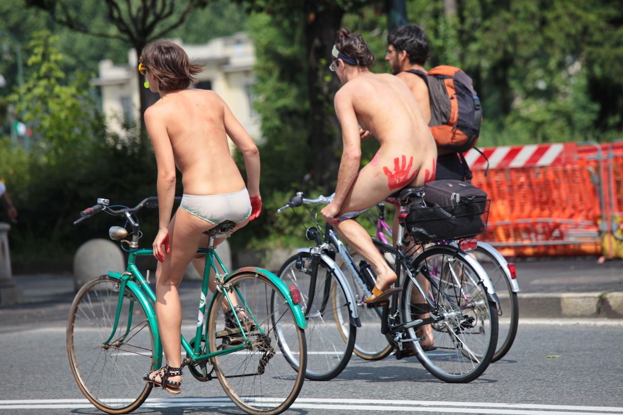Portland Naked Bike Ride 2020
