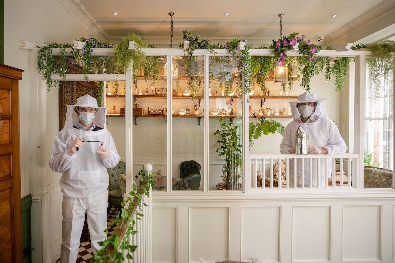 Beekeeper suits social distancing