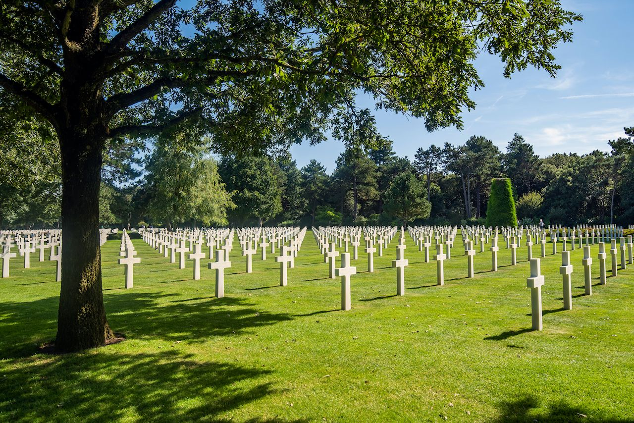 Colleville-sur-Mer, France The Normandy American Cemetery and Memorial