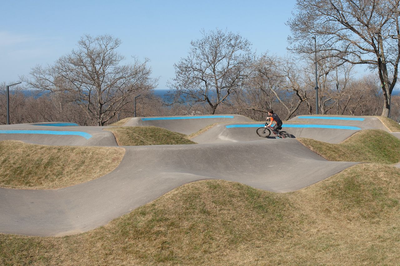 What is a pump track