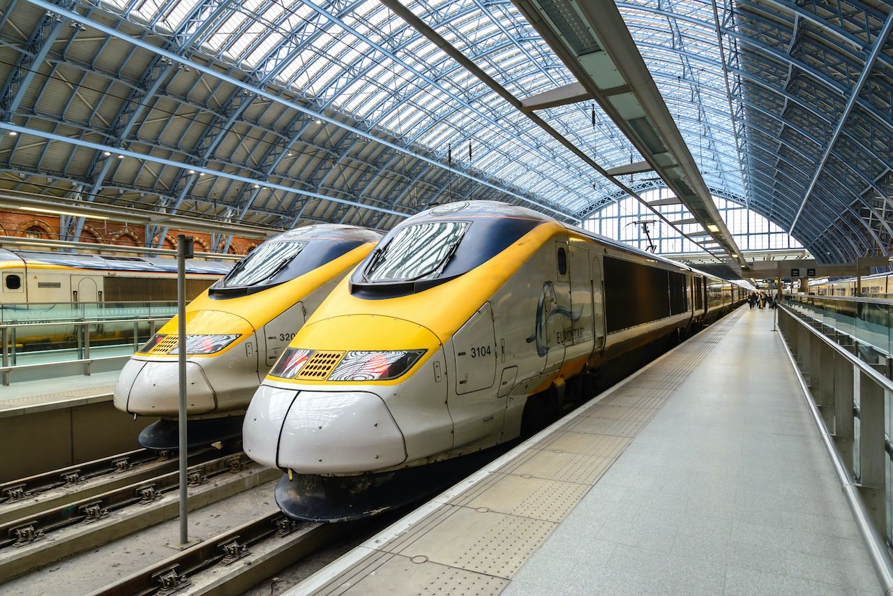 Eurostar will use face scans instead