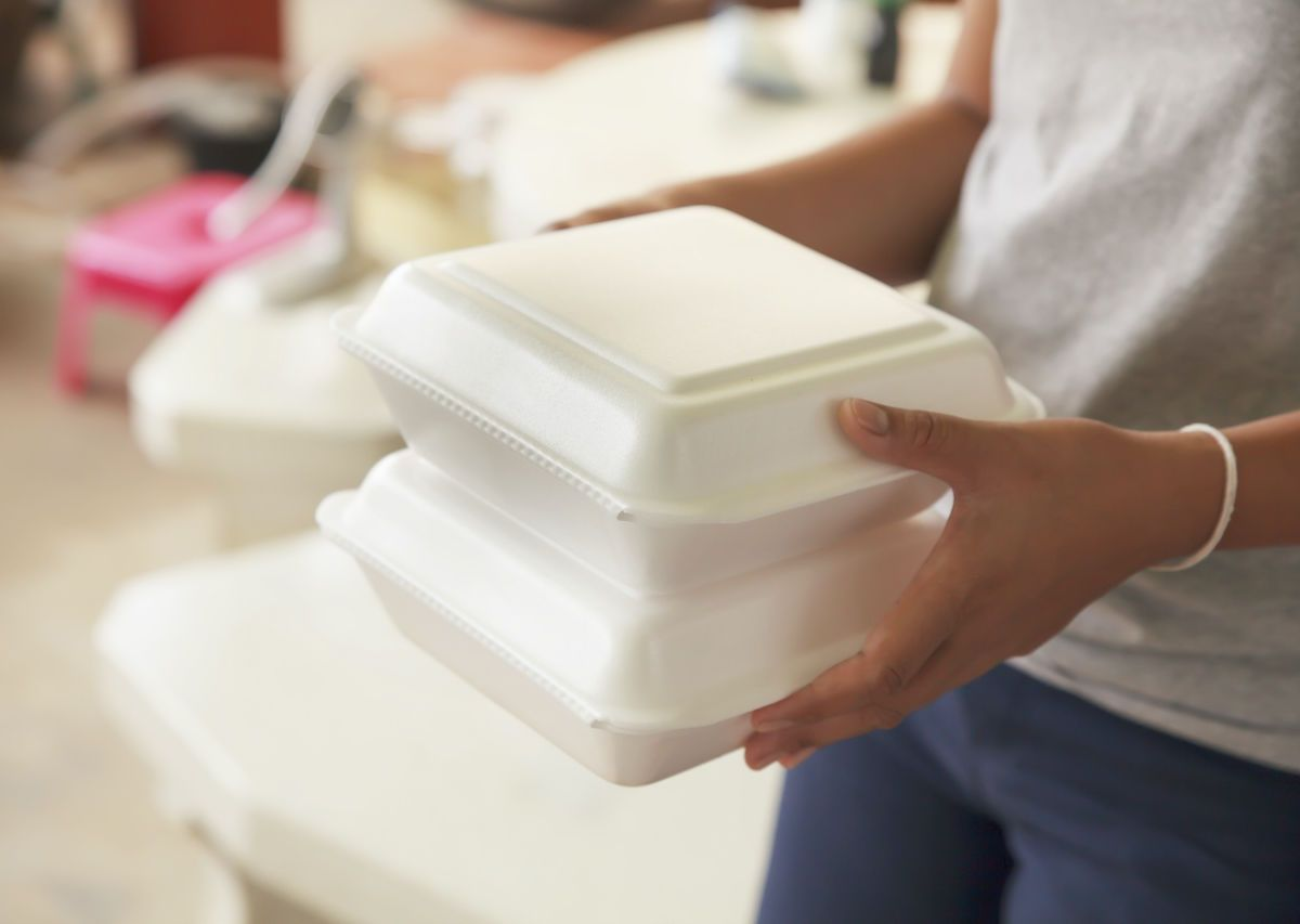 What to do with the styrofoam containers you collected during lockdown