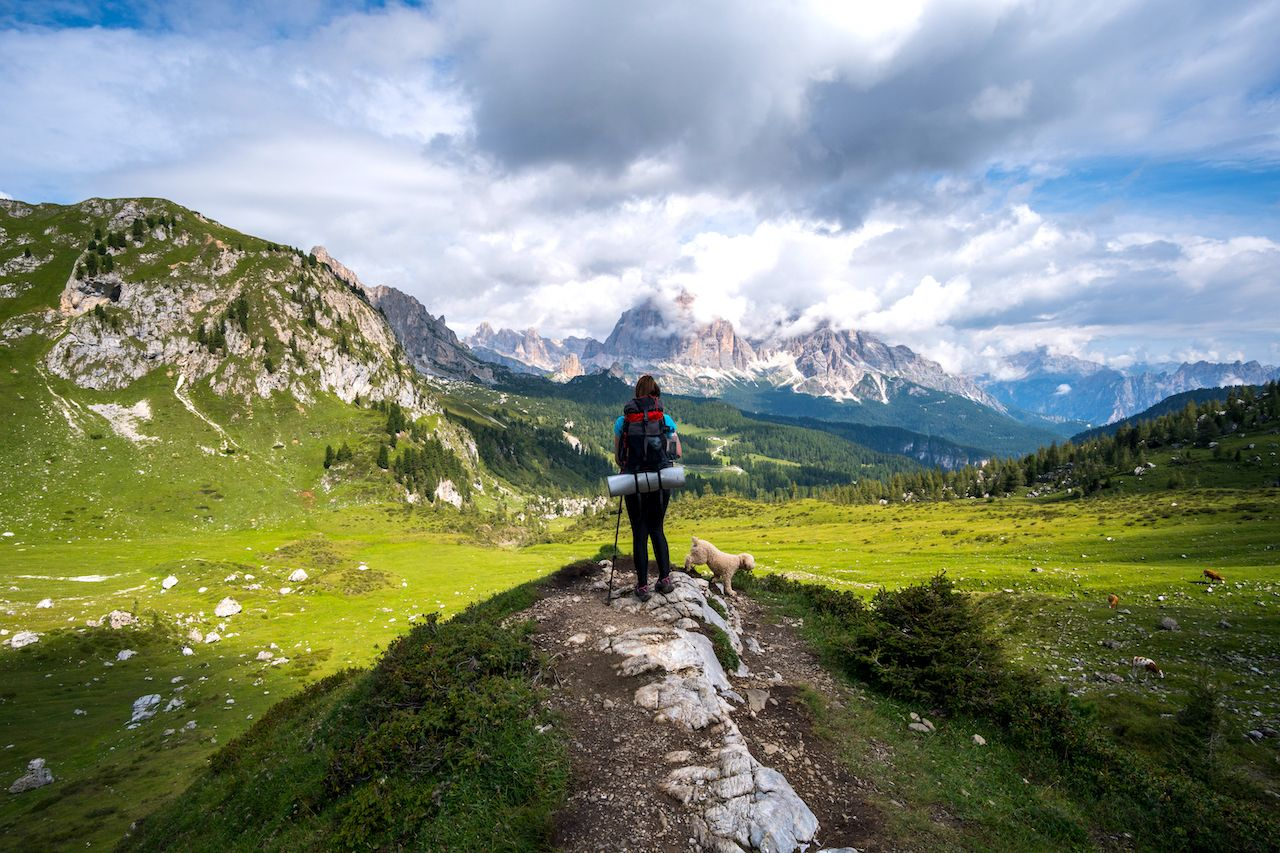 Italy announces hiking route