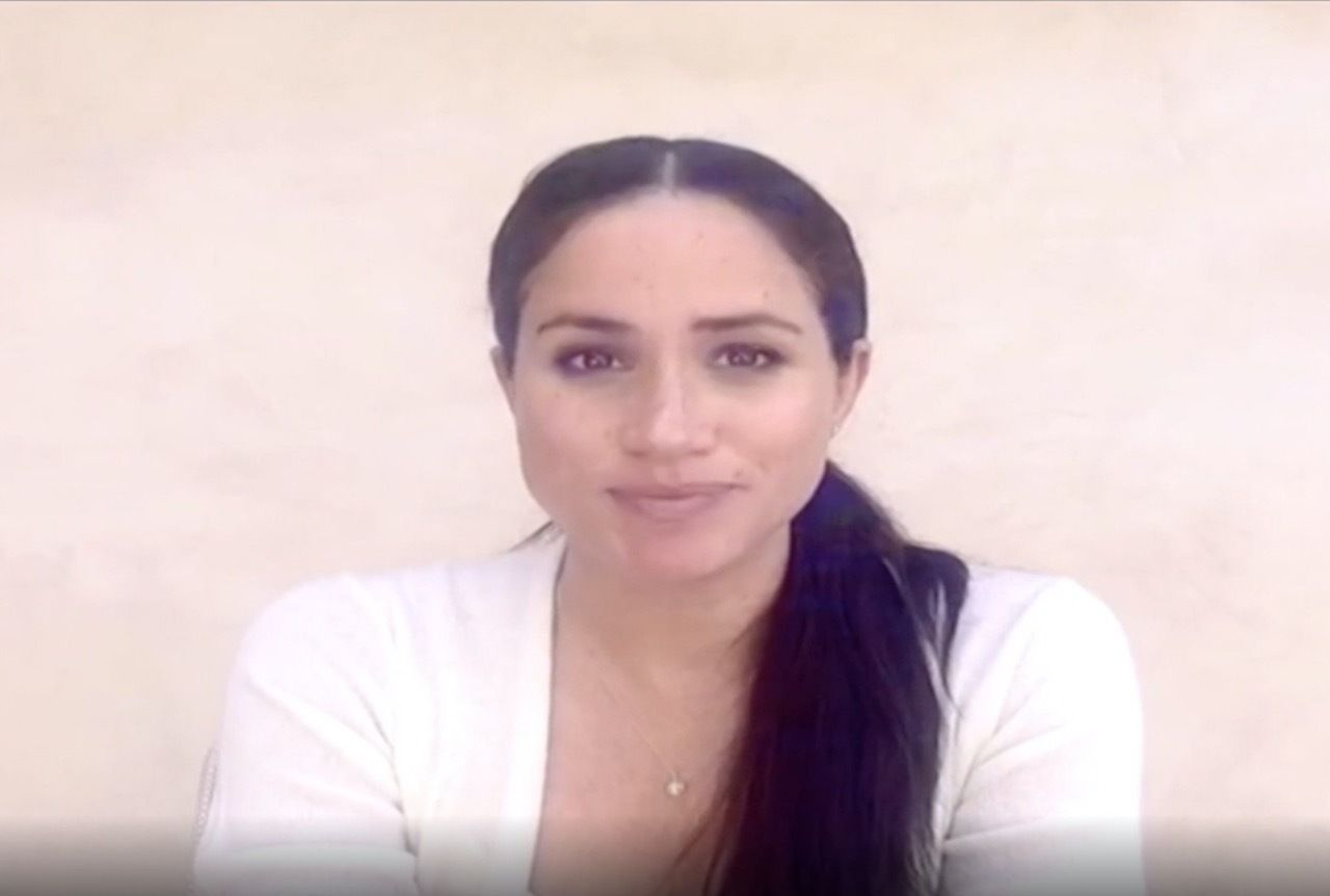 Meghan Markle addresses BLM
