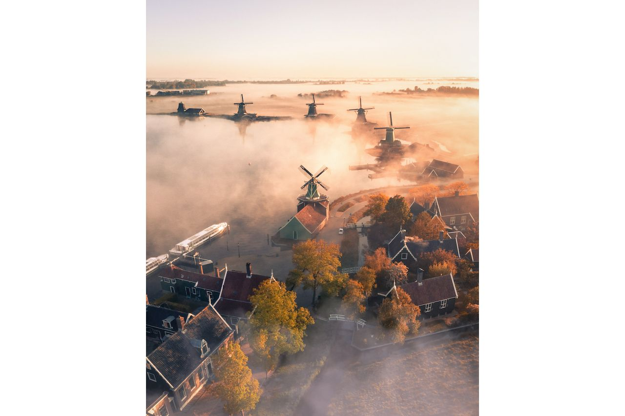 Morning in the Netherlands