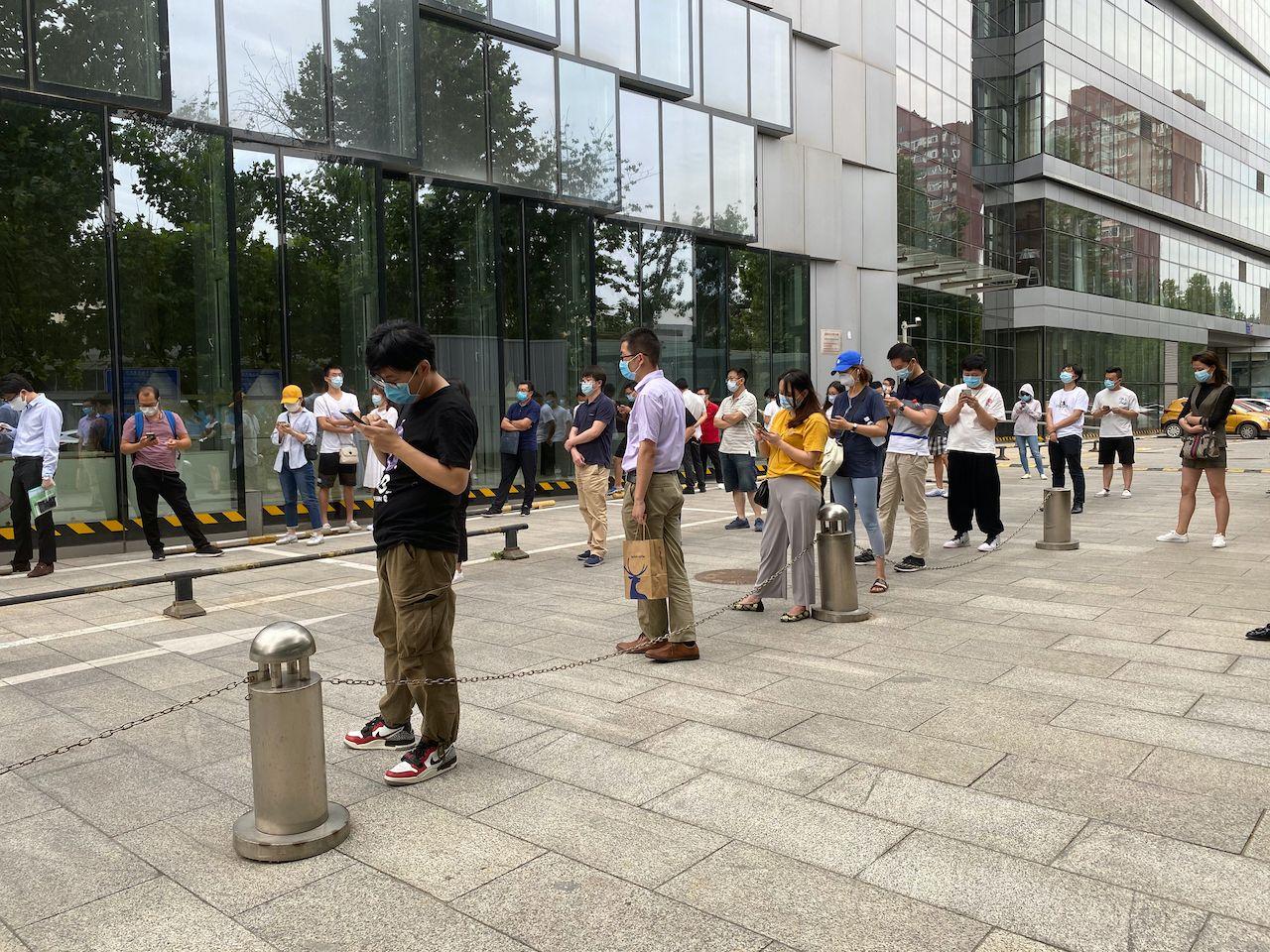 Beijing coronavirus outbreak in June