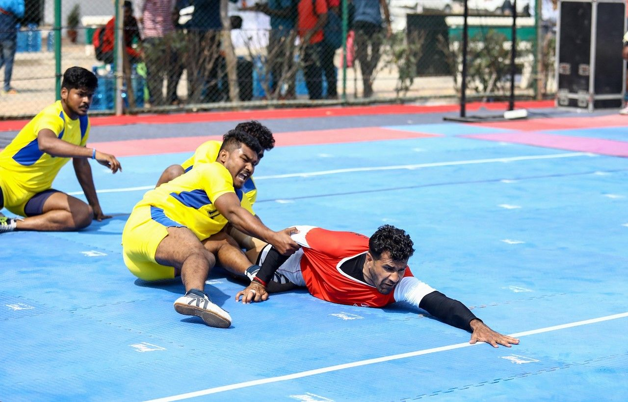 What is kabaddi, what are the rules