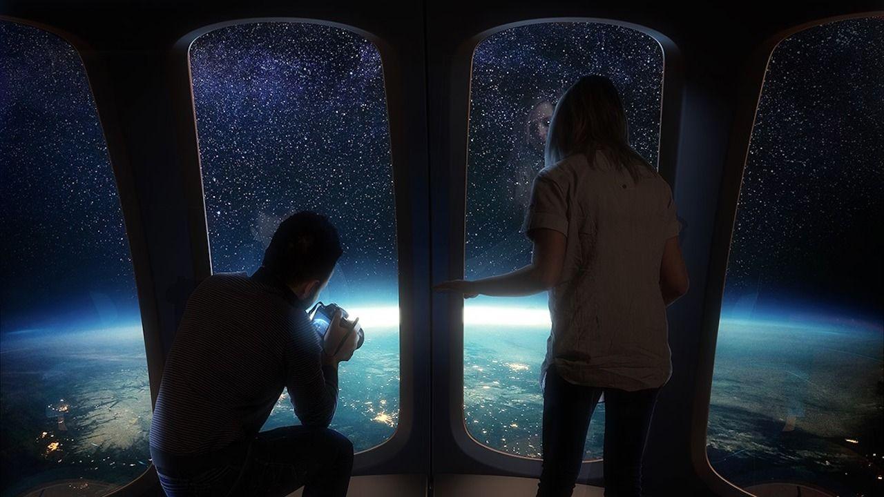 imagen espacio Space Perspective
