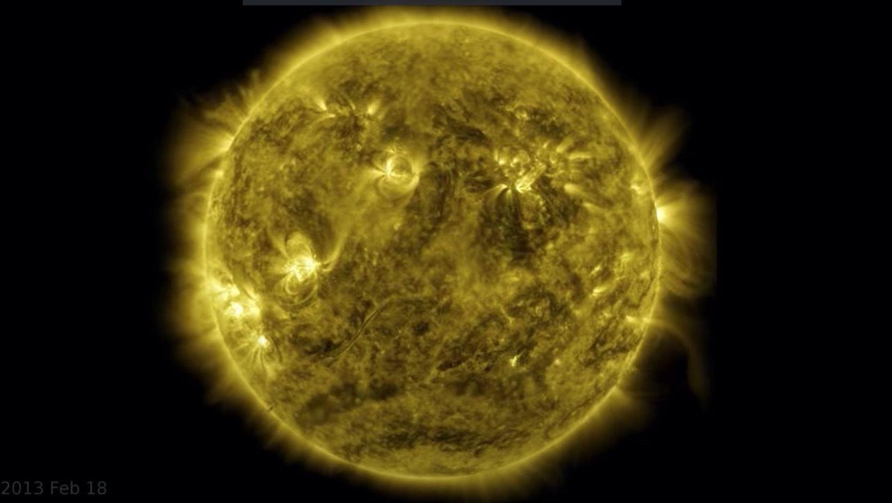 NASA's timelapse of the sun