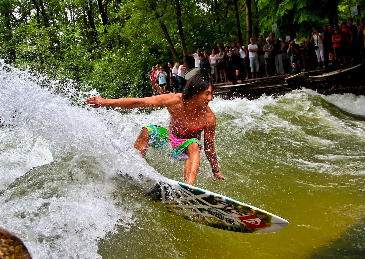 8 thrilling rivers you can surf when you're nowhere near the ocean