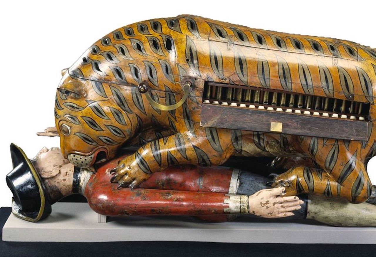 Tipu's Tiger at the Victoria and Albert Museum