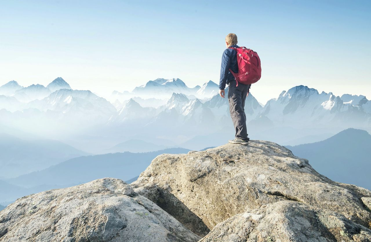 How to hike a mountain off-trail