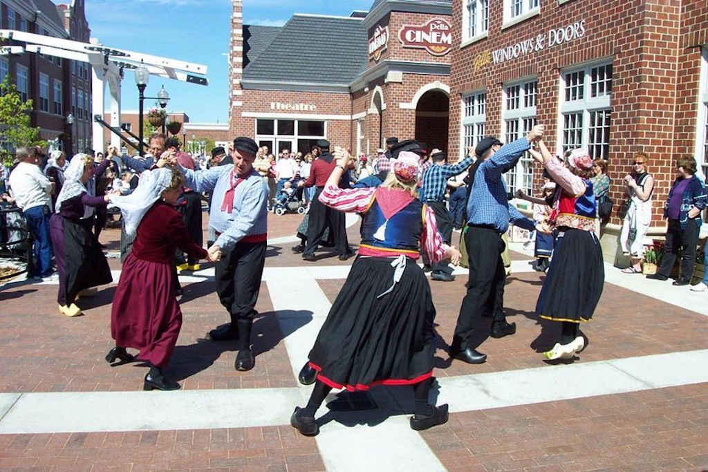 Tulip Time dancing in Pella, Iowa