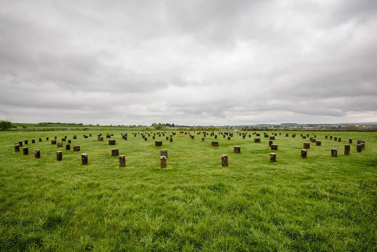 Prehistoric Durrington Shafts found