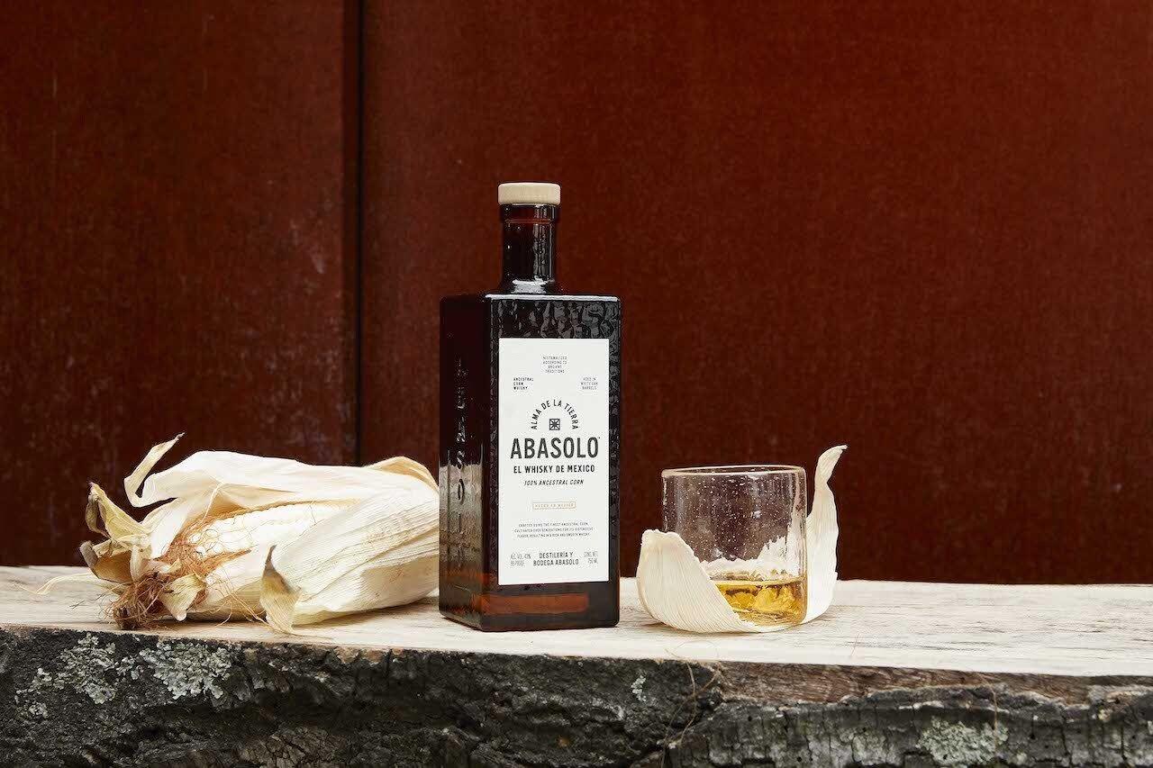 Abasolo corn whisky from Mexico