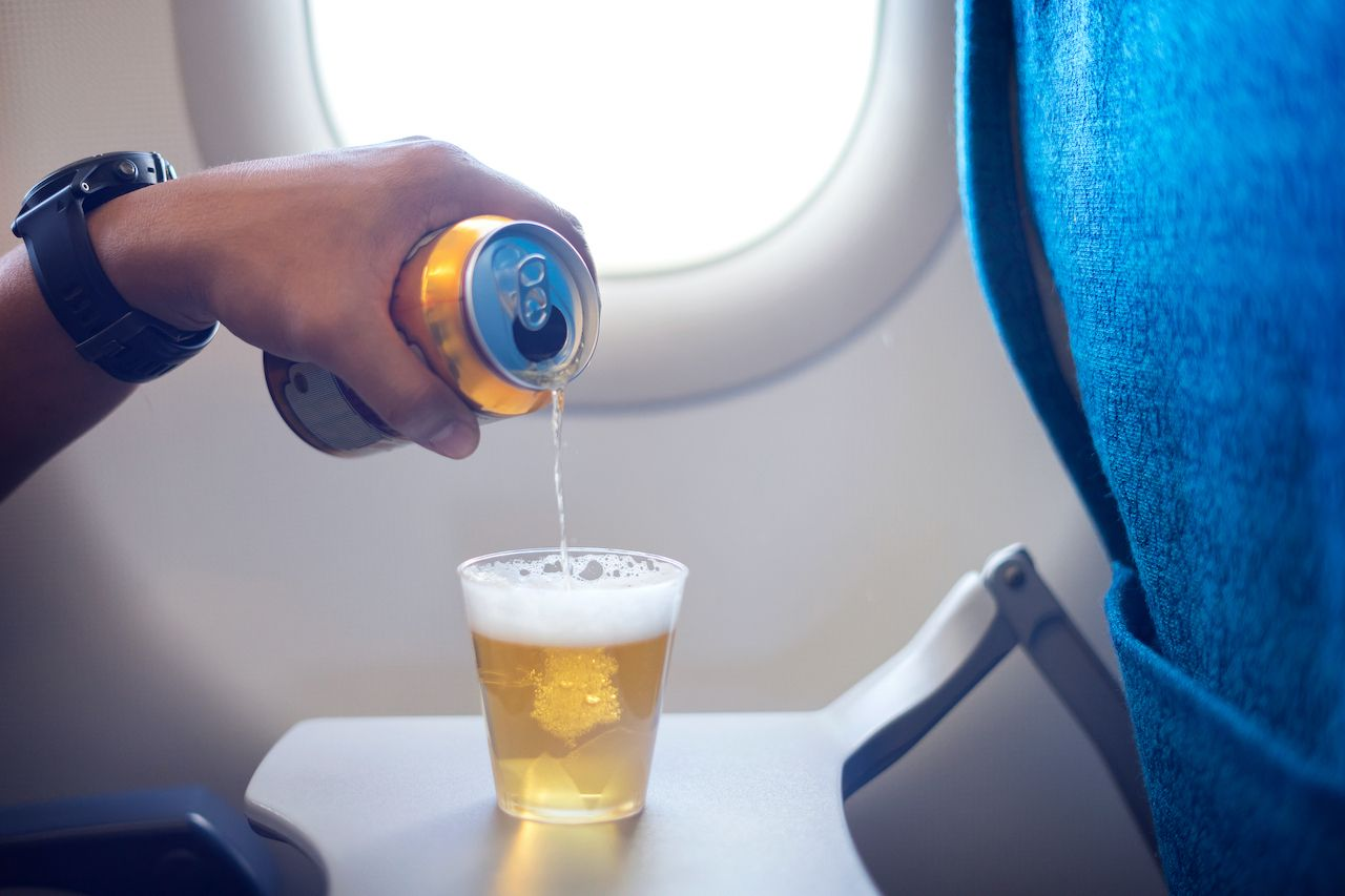 Airlines suspend alcohol service