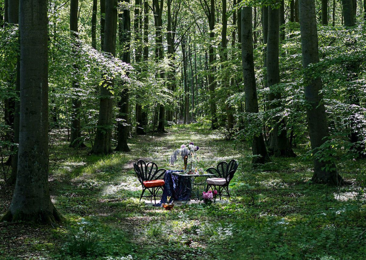 Swedish restaurant puts tables in nature for beautiful socially distanced dining