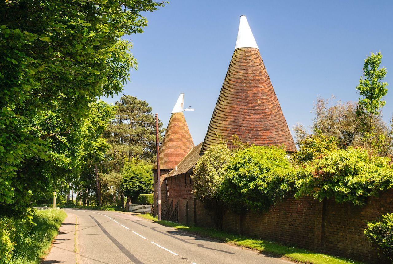 Oast houses 4