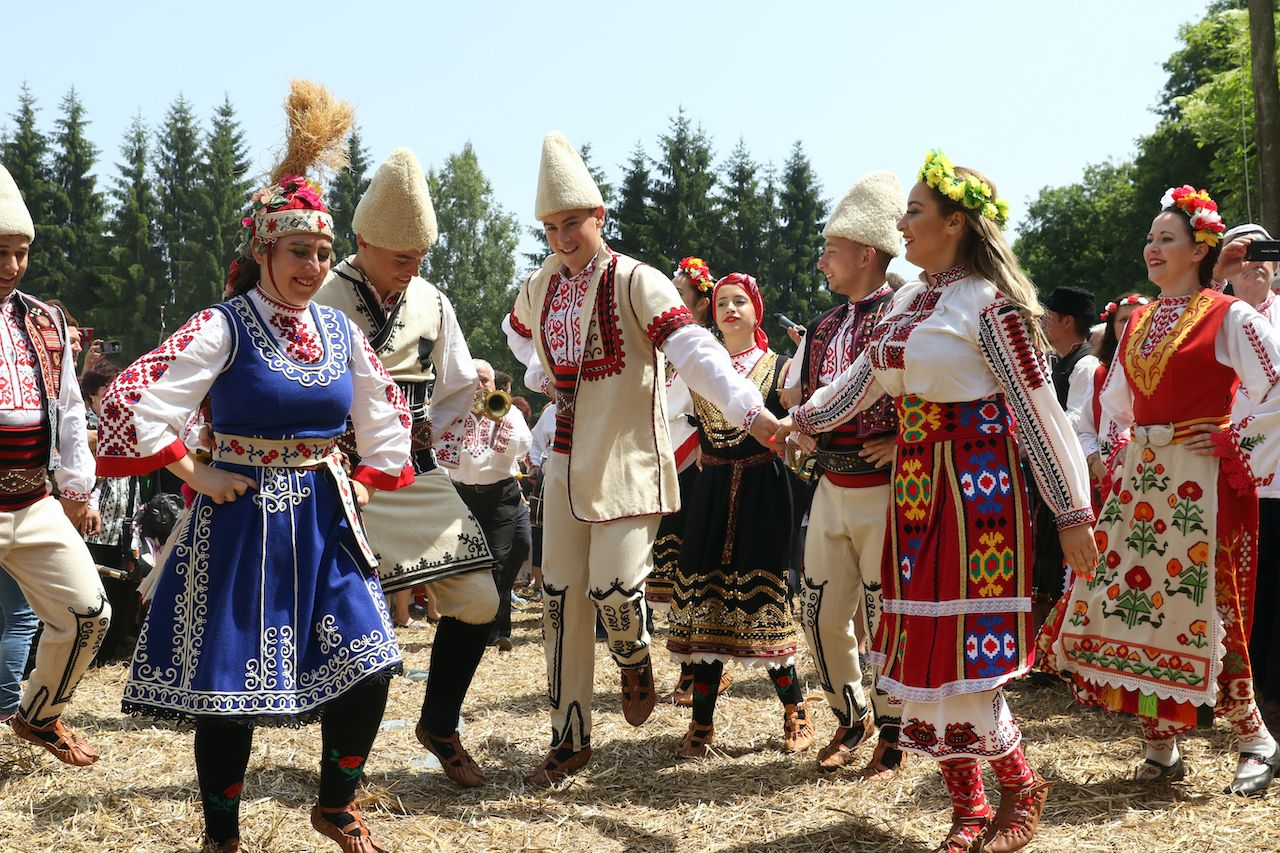 Bulgarians love an excuse to sport their nosiya.. The post Bulgaria's folk dress is more than a beautiful garment. It displays personal history. appeared first on Matador Network..