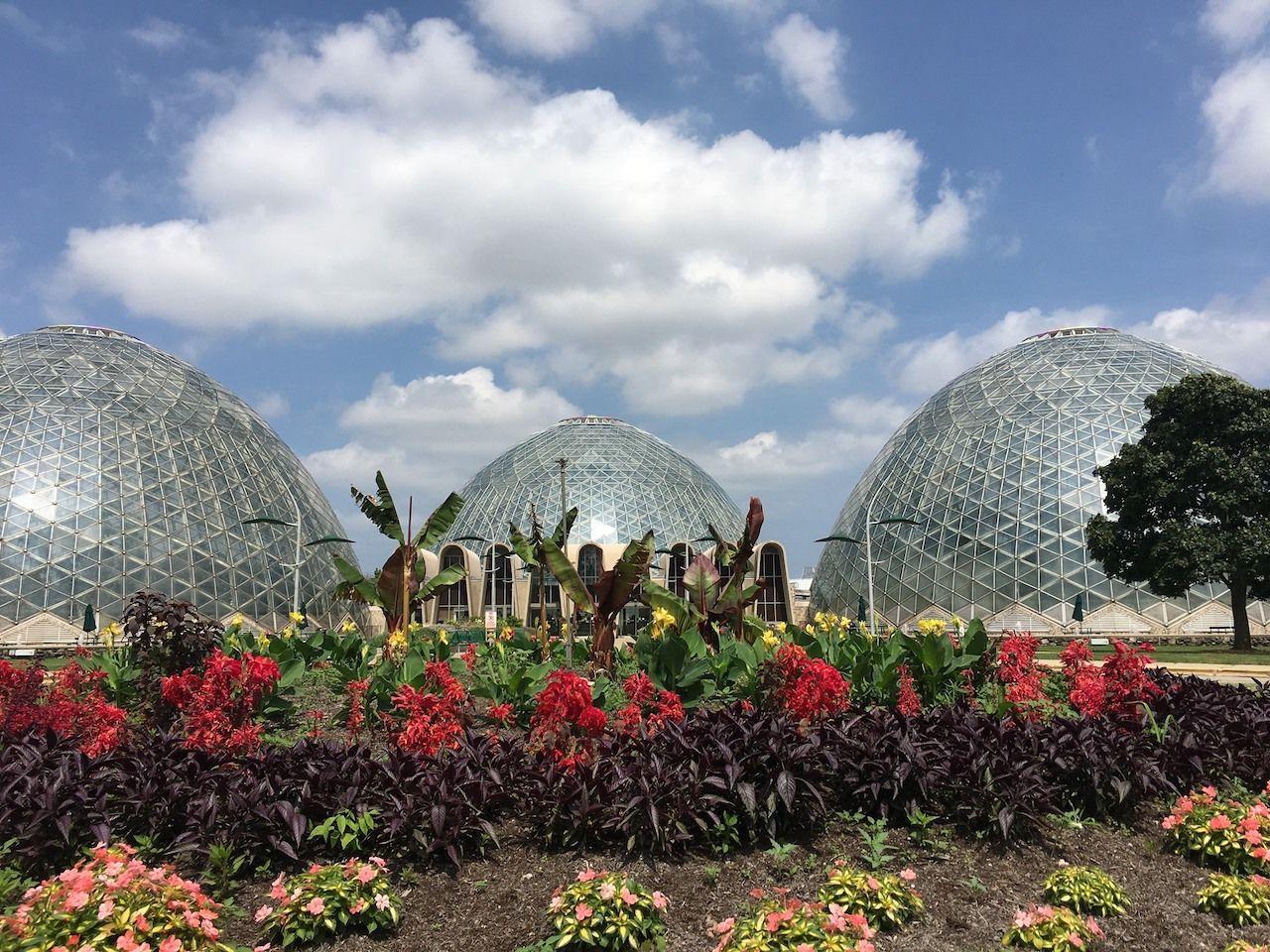The Milwaukee Domes