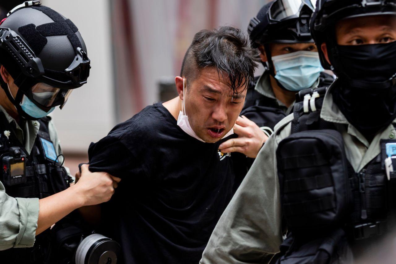 Arrests in Hong Kong