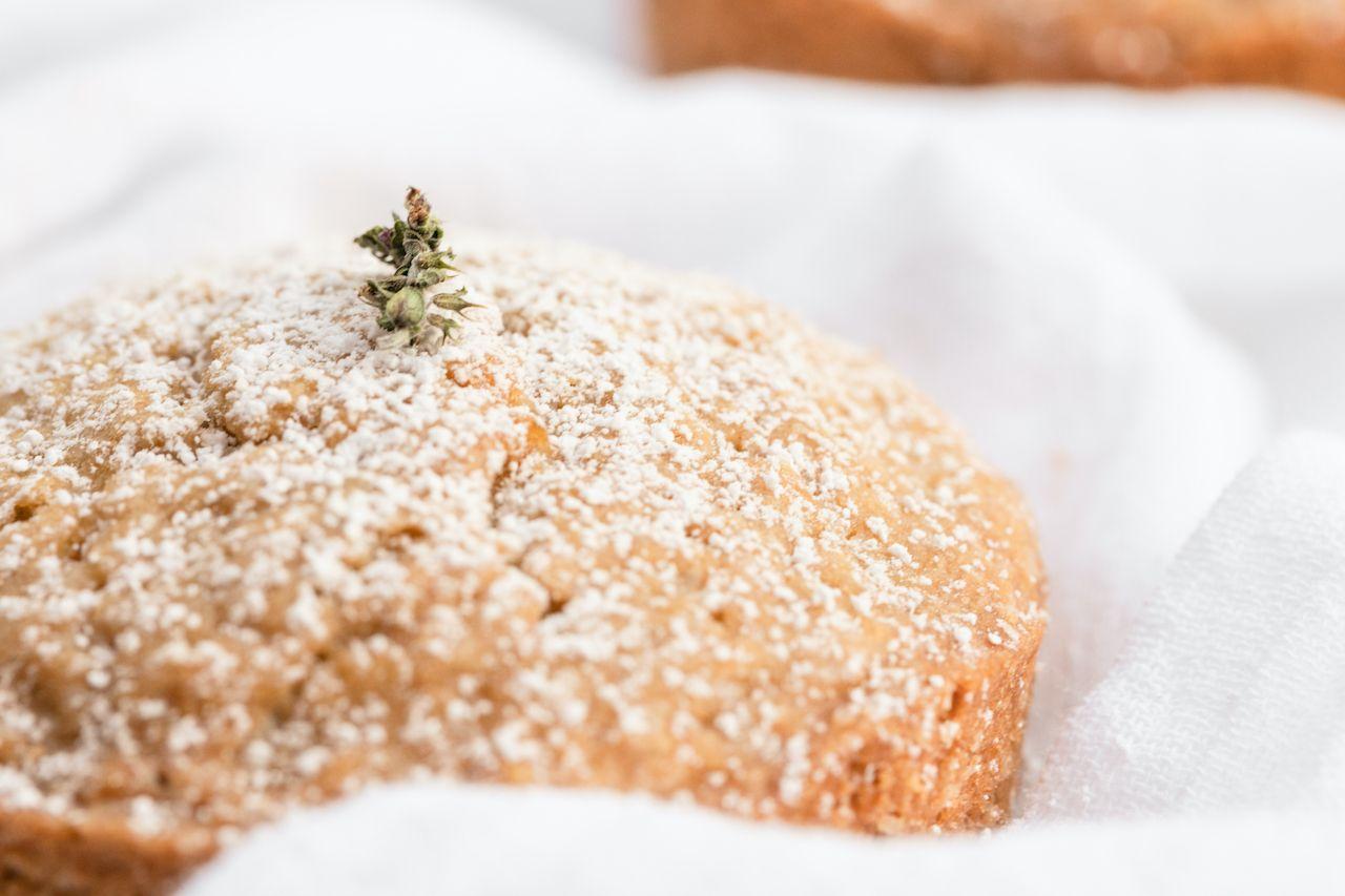 olive oil lemon thyme cake
