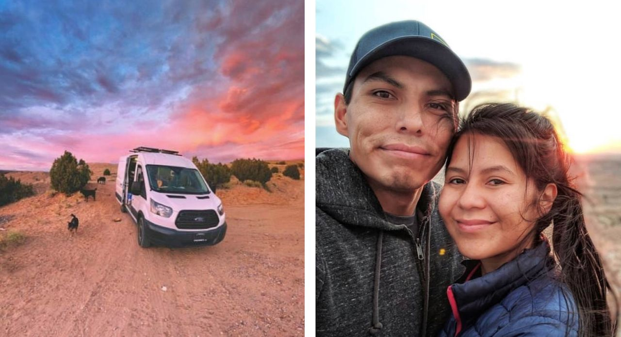 Rez Roads, #vanlife, Navajo Nation