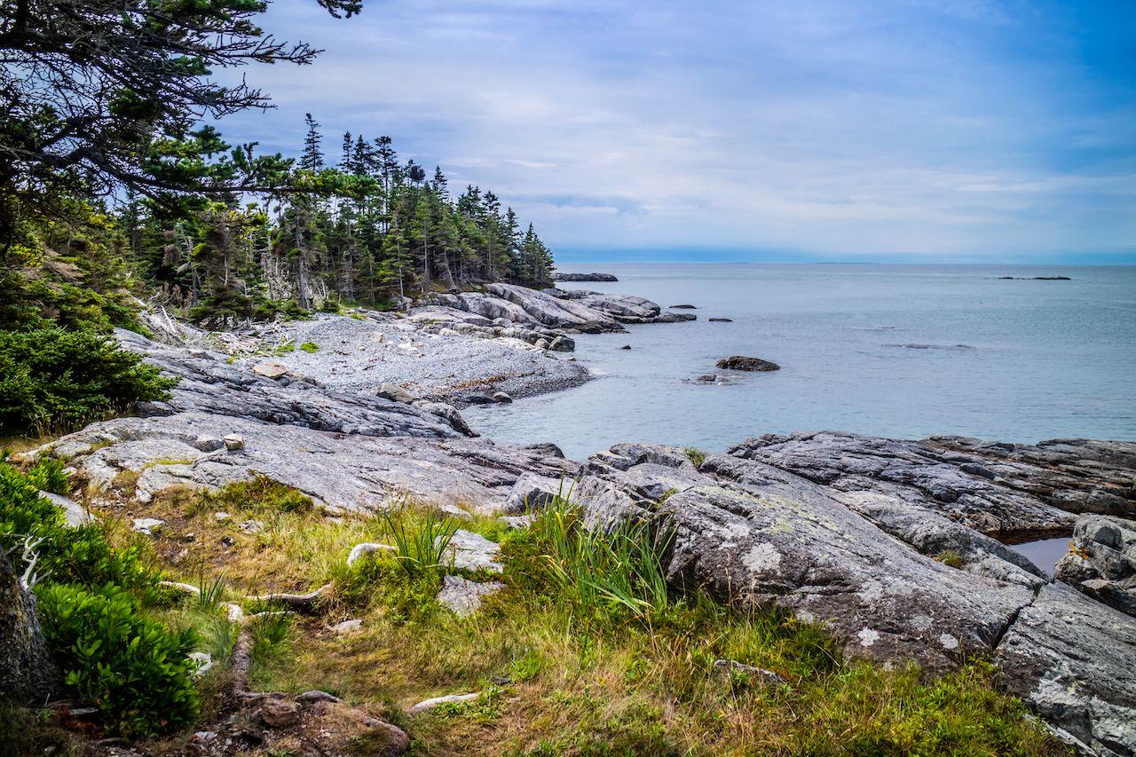 Duck Harbor Isle au Haut in Acadia National Park, Maine