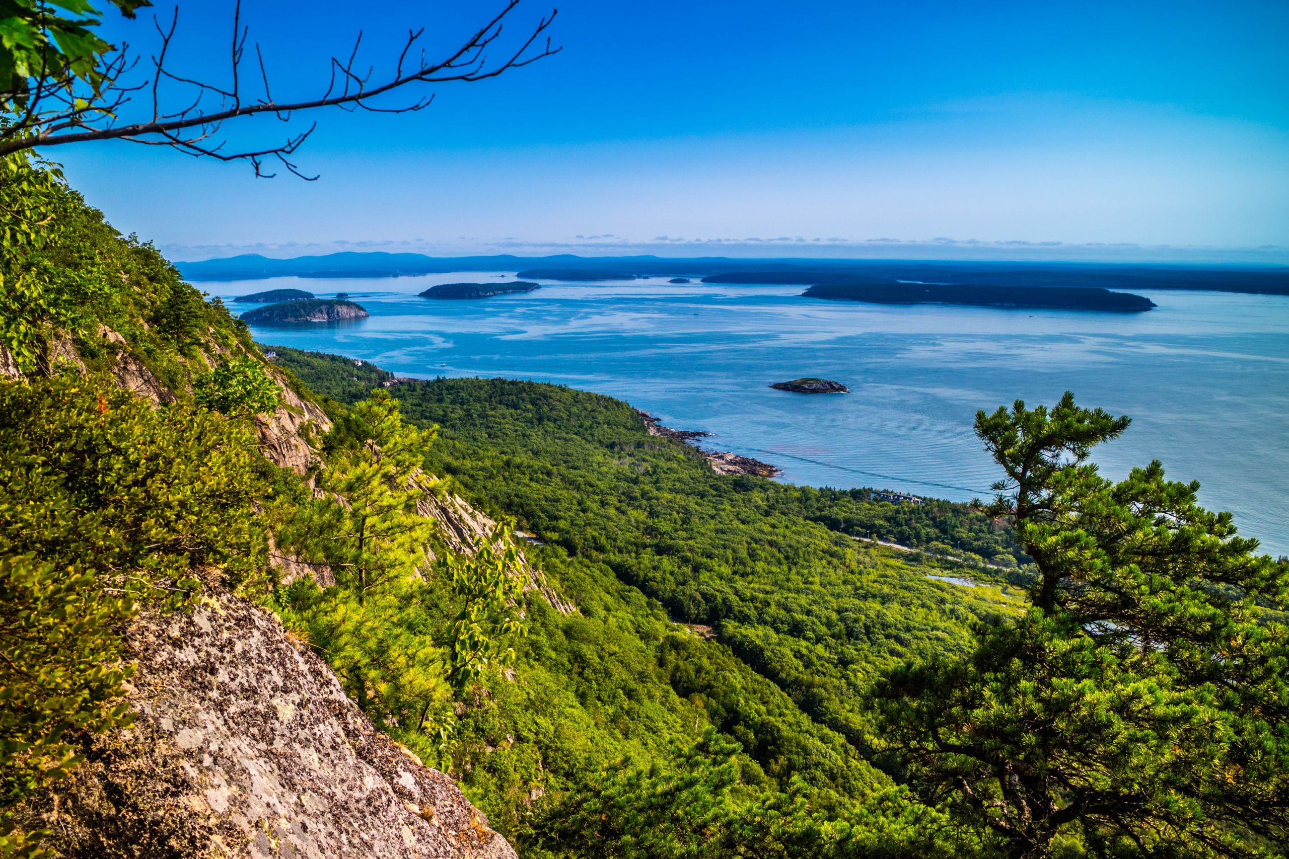 The Precipice Trail in Acadia National Park