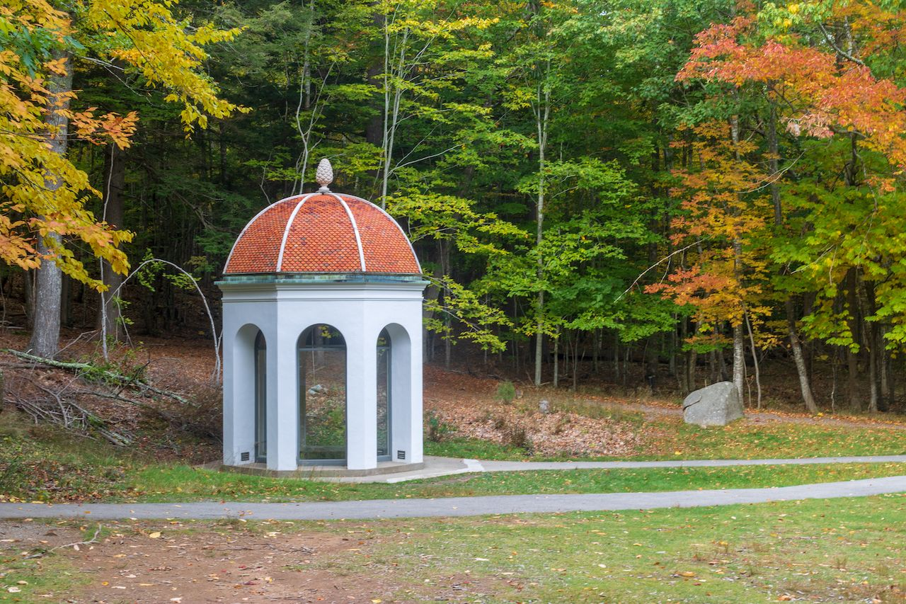Springhouse at Sieur de Monts spring in Acadia National Park