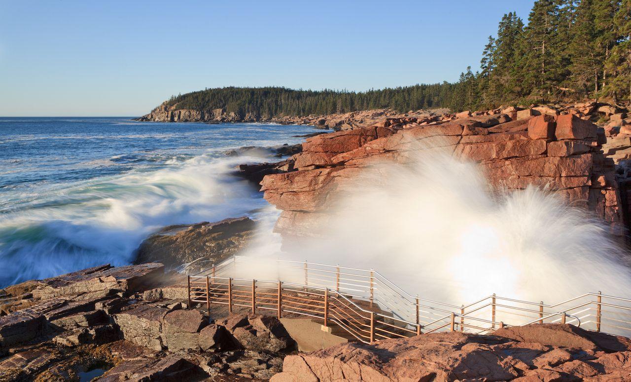 Thunder Hole, Acadia