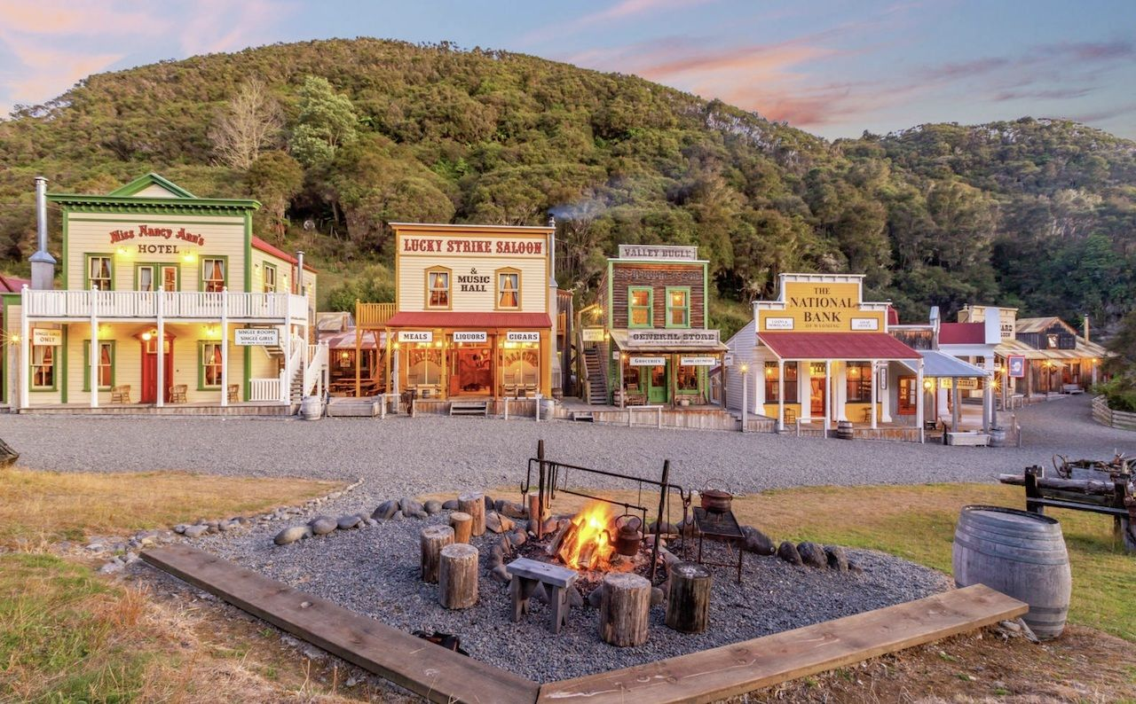 New Zealand Wild West town for sale