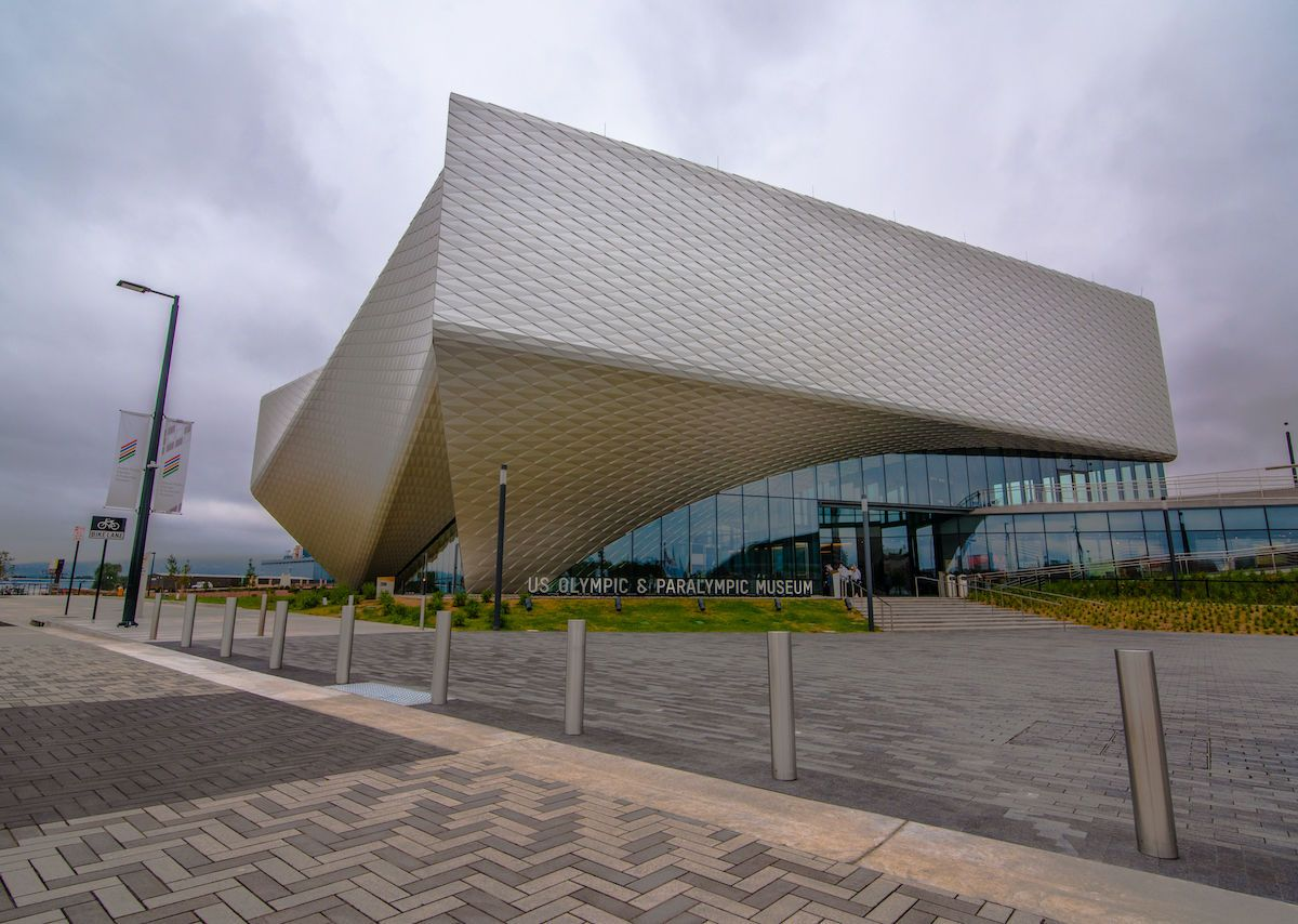 The new US Olympic & Paralympic Museum honors athleticism, accessibility, and big dreams
