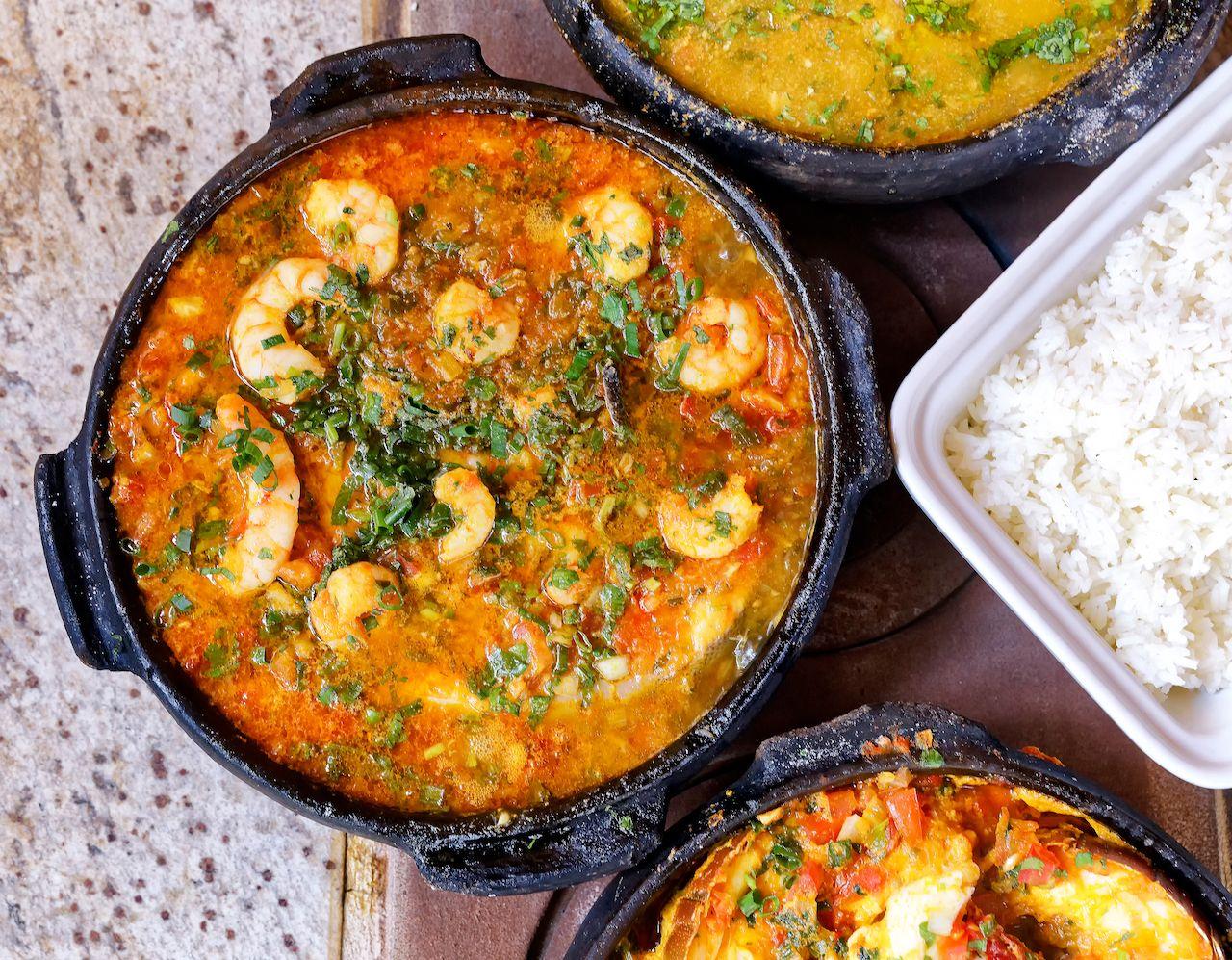 Moqueca capixaba, delicious Brazilian dish.