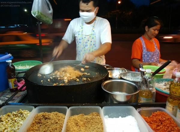 qué comer en Tailandia Pad Thai