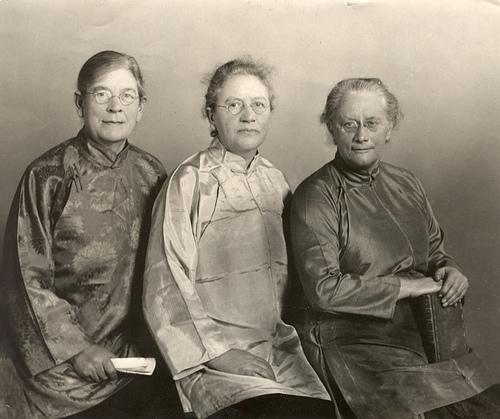 Inglesas. Vivieron entre 1869 y 1960