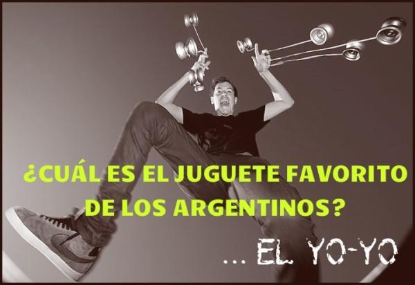 ¿Cuál es el juguete favorito de los argentinos? El yo yo