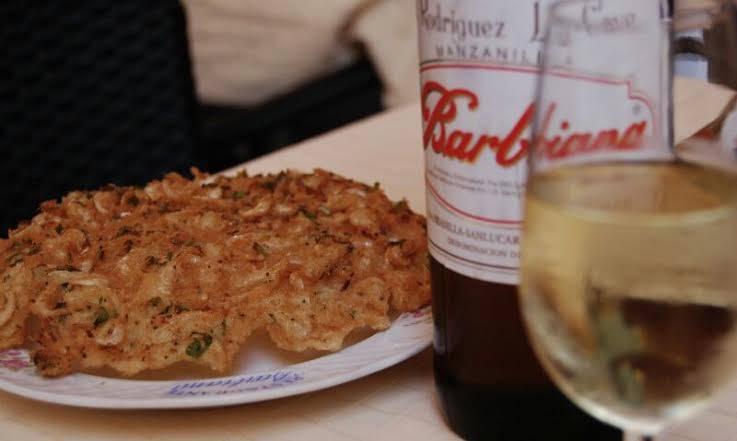 7. tortillitas de camarones barbiana